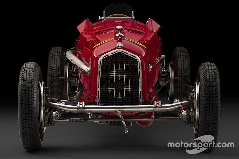 Une Alfa Romeo de la Scuderia Ferrari est en vente