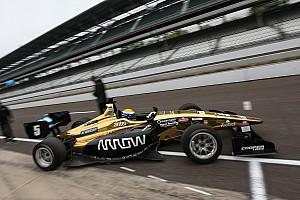 Indy Lights Reporte de la carrera Santiago Urrutia logra el segundo lugar en Indianápolis