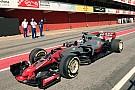 Формула 1 Новая машина Haas засветилась в Барселоне