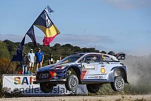 WRC Son dakika İtalya WRC: Perşembe etabında Neuville lider