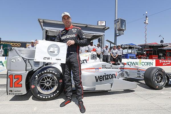 IndyCar IndyCar: Will Power idei negyedik pole-pozícióját szerezte Iowában
