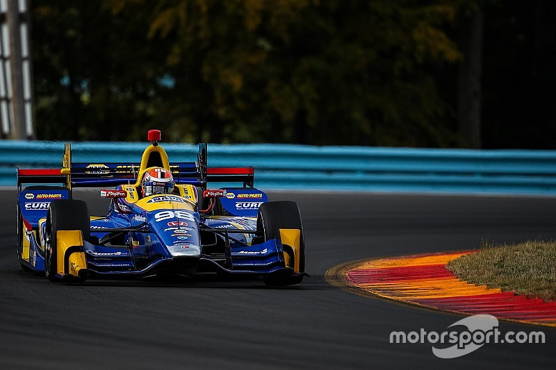 Andretti takes over Herta IndyCar seat in Rossi swap