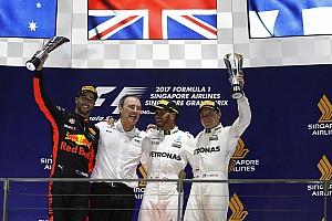 Fórmula 1 Crónica de Carrera Hamilton gana en un caos en Singapur y es líder del mundial
