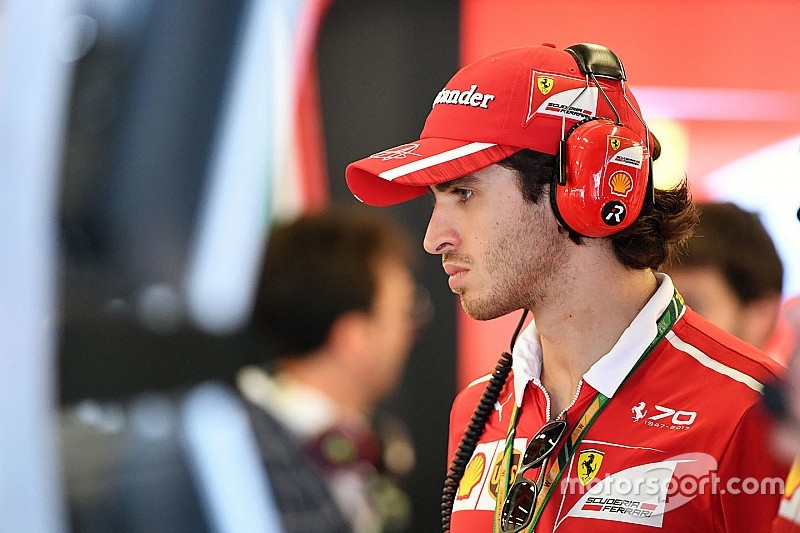 Арривабене рассказал о вкладе Джовинацци в поул Ferrari