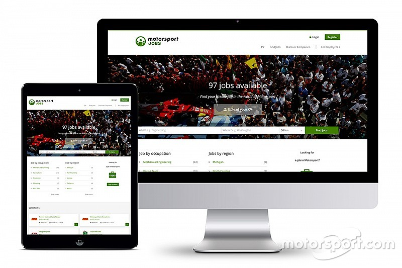 Motorsport Network launches global jobs site – Motorsportjobs.com