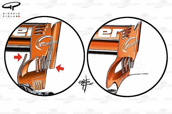 Fórmula 1 Análise McLaren planeja aumentar carga aerodinâmica traseira