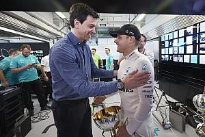 Formel 1 News Wolff verteidigt Fahrer: Bottas manchmal besser als das Auto