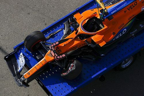 Sainz admite su error en la curva 2 en Sochi, pero critica su diseño
