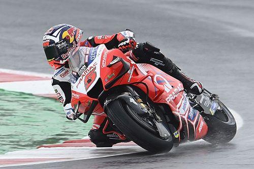 MotoGP Emilia Romagna 1. antrenman: Islak zeminde Zarco lider, Quartararo 18. oldu