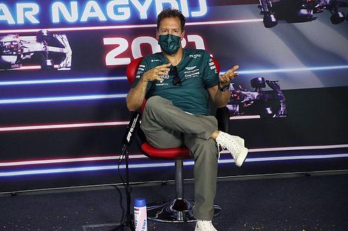 Vettel konfettivel próbálta köszönteni Alonsót, nem jött össze! (videó)