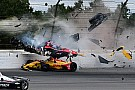 Wickens airlifted to hospital after vicious shunt at Pocono