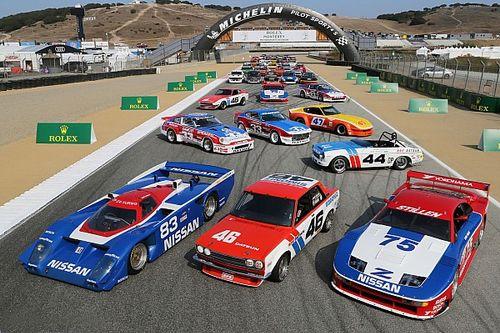 Deretan mobil balap Nissan hadir di Laguna Seca