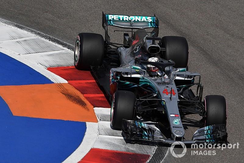 ロシアFP3:ハミルトン好調、フェラーリ近づけず。ガスリー12番手