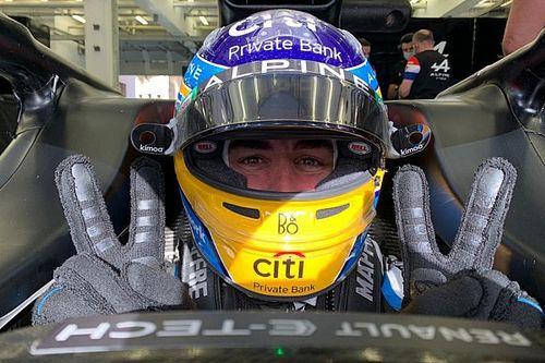 Alonso, Alpine'deki herkesin 'manevi babası' gibiymiş