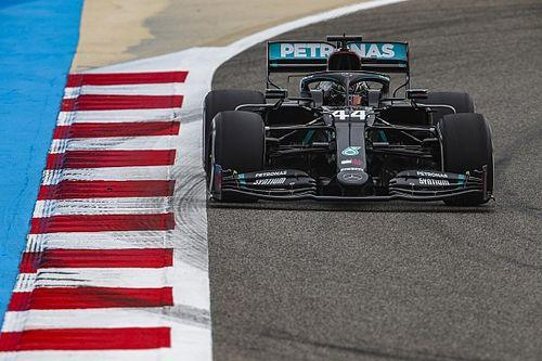 EL1 - Lewis Hamilton reprendra bien un peu de désert