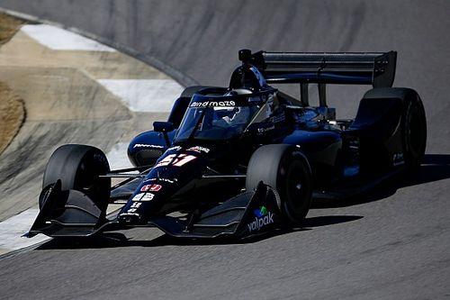 Grosjean soddisfatto del primo test in IndyCar