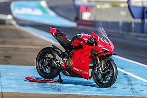 Fotogallery: la Ducati Panigale V4 R vista più da vicino