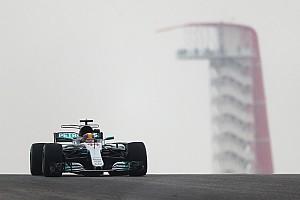 Hamilton no tuvo rival en los primeros libres de Austin