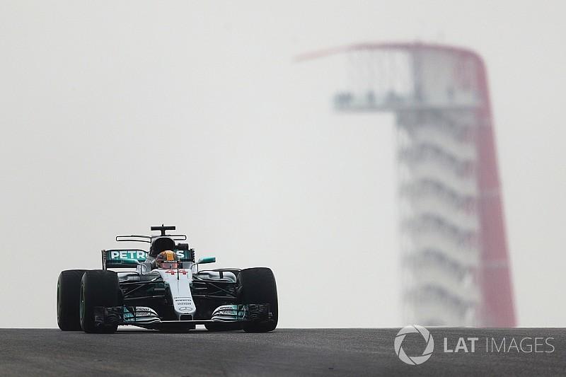 Formel 1 2017 in Austin: Hamilton hält Vettel auf Distanz