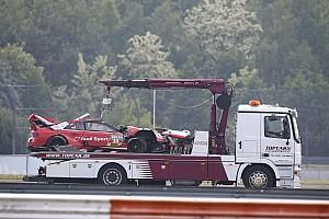 DTM Noticias Rast acaba en observación tras el accidente y no correrá el domingo
