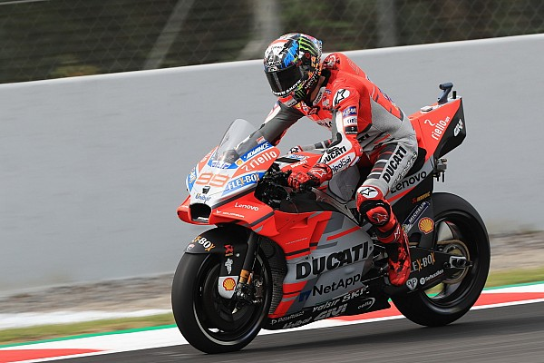 MotoGP 速報ニュース ドゥカティ初ポールのロレンソ「前戦よりも感触が良くなっている」