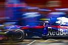 Formula 1 GALERI: Aksi mobil Toro Rosso STR13 di tes F1 Barcelona