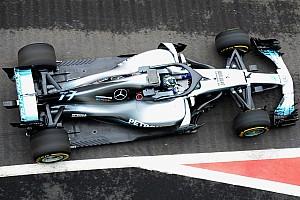 La Mercedes W09 impressionne par son étroitesse