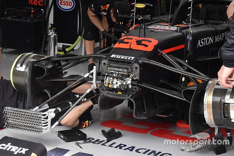 Гран При Бахрейна: шпионские фото технических новинок. Часть 2