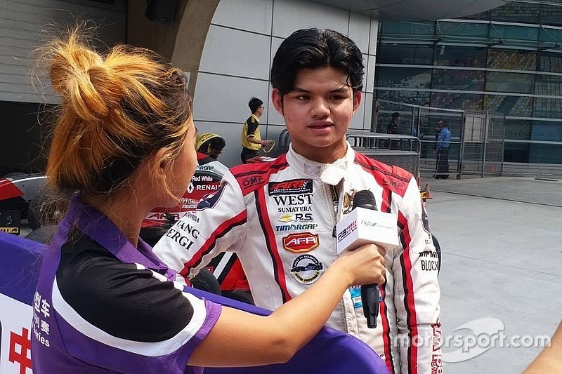 AFR Shanghai: Dana podium lagi, Keanon finis 10 besar