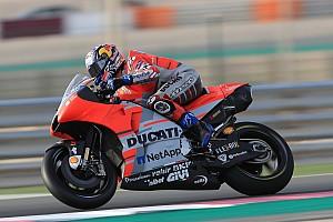 MotoGP Отчет о тренировке Довициозо стал быстрейшим в первой тренировке в Катаре, Росси второй