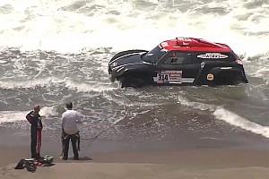 Dakar Breaking news Mini driver Al-Rajhi survives Dakar ocean scare