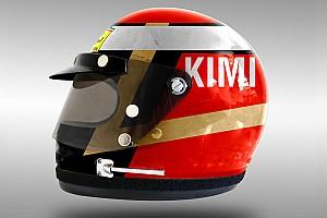 Formel 1 Fotostrecke Retrodesign: Die Helme von Vettel und Co. im Stil der 1970er