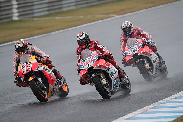 MotoGP Breaking news Lorenzo not ready to sacrifice wins for Dovizioso