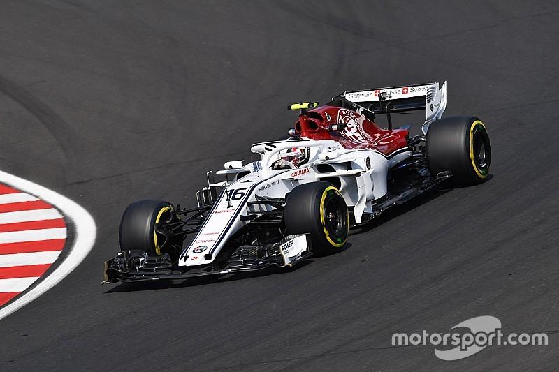 """Leclerc: """"El mal comienzo hizo que el progreso de Sauber se viera más grande"""""""