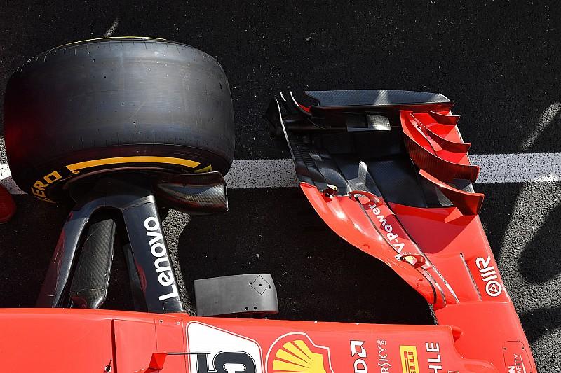 F1-es technikai képgaléria a Francia Nagydíjról