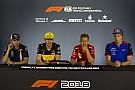 Formula 1 German GP: Thursday's press conference