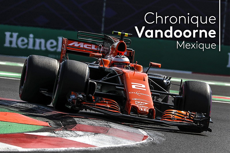 Chronique Vandoorne - Une vitesse de pointe handicapante à Mexico