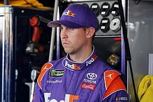 NASCAR Cup Breaking news Denny Hamlin focused on winning, not revenge from Chase Elliott