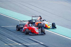 Indian Open Wheel Race report MRF Dubai: Presley Martono finis runner-up di Race 3, Dana P14