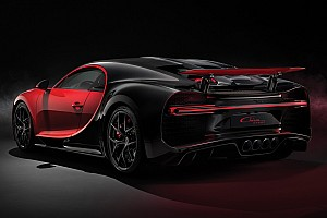 Automotive Breaking news Bugatti knows if a Chiron's tyres are not properly inflated