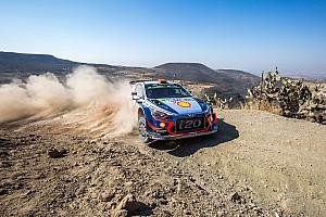 WRC Leg report Mexico WRC: Sordo takes early lead, Loeb third