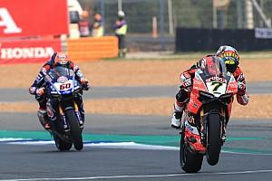 WSBK Résumé de course Course 2 - Première victoire pour Davies, fin de série pour Kawasaki