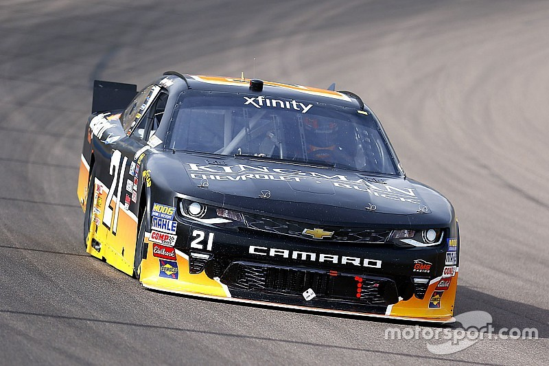 Spencer Gallagher moves up to Xfinity Series with GMS Racing