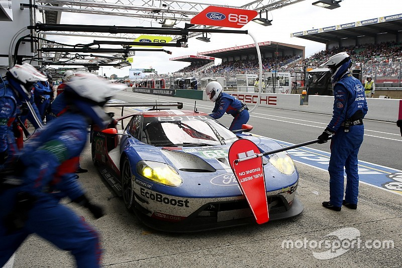 le mans update winning ford gt hit by post race penalties. Black Bedroom Furniture Sets. Home Design Ideas