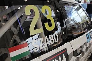 FIA Ralikrossz Eb BRÉKING  Jean Todttól vett át díjat Szabó Krisztián