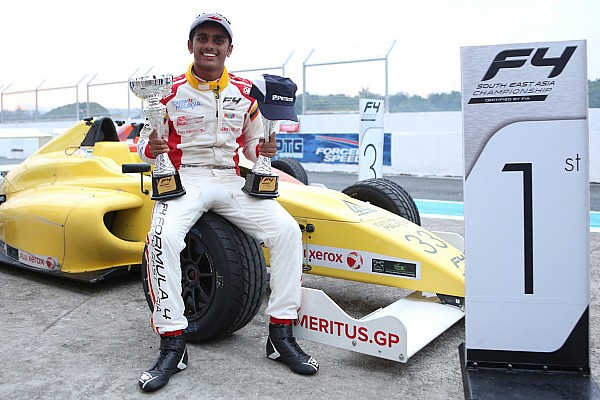 Formula 4 SEA Clark F4: Gowda takes his first two wins