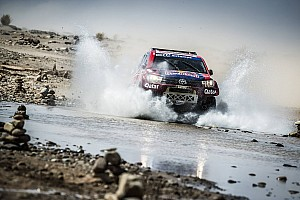 Cross-Country Rally Race report Al-Attiyah dominates Rally Morocco, Sainz takes second