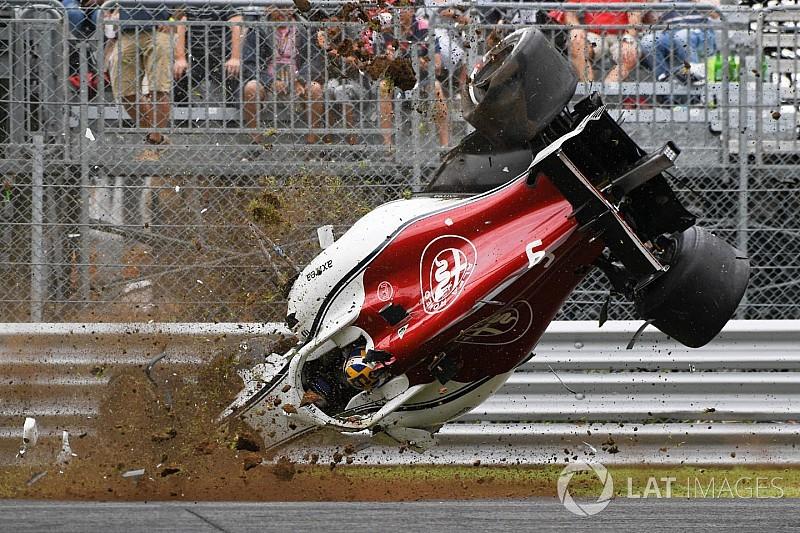 GALERI: Insiden dan kecelakaan dramatis F1 2018