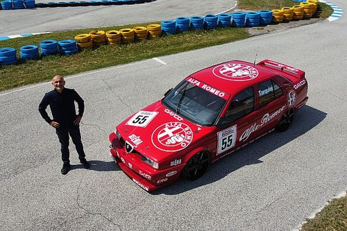 Tarquini mette all'asta l'Alfa Romeo 155 Campione BTCC!