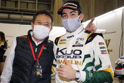 "Alesi: First Super Formula pole ""reward for tough times"""